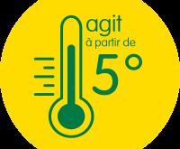 Engrais ECO+ agissent à partir de 5°C
