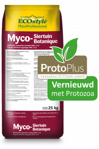 Myco-Siertuin met protozoa