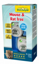 Mouse & Rat free 30 m² + 30 m²