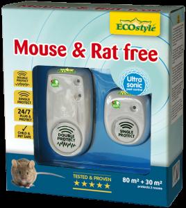 Mouse & Rat free 80 m2 + 30 m2