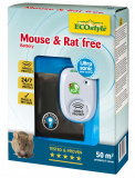 Ultrasoon verjagen van muizen en ratten zonder batterij