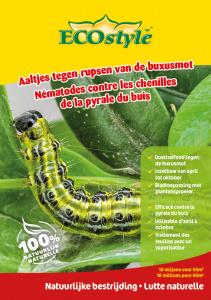 Aaltjes tegen buxusmot en haar larven